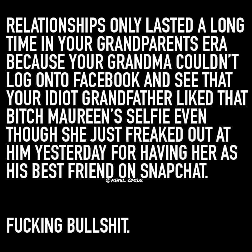 Ha Ha For Real Social Media Has Ruined The Reality Of Relationships And Basic Human I Social Media Quotes Internet Marketing Quotes Social Media Relationships