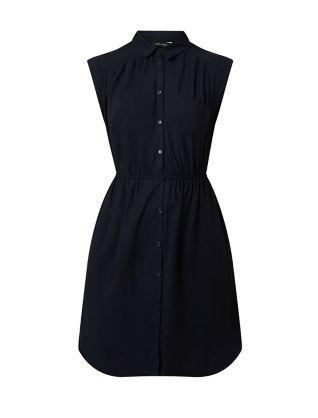 Navy Short Sleeve Shirt Dress  | New Look