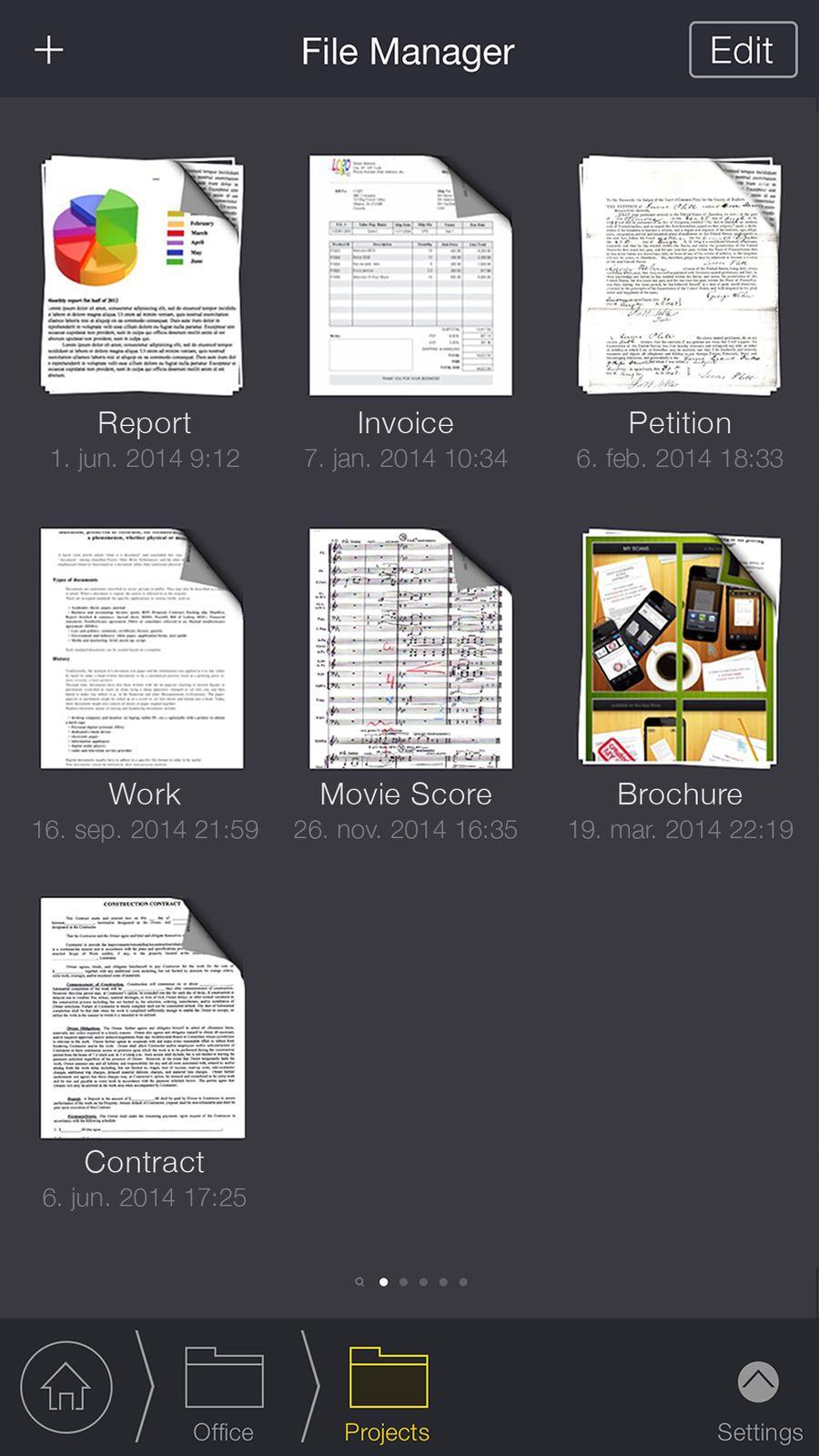 My Scans, best PDF Scanner App ProductivityAPPios