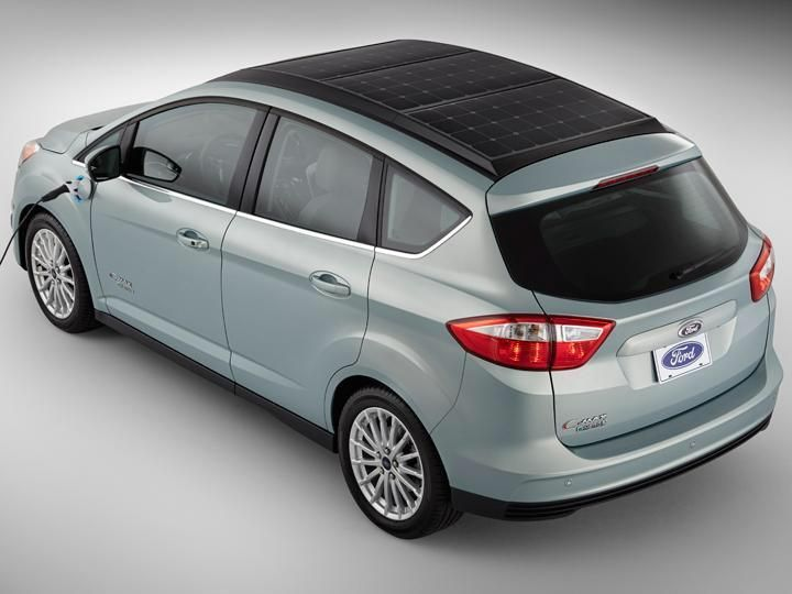 This Is A Solar Powered Car Called The Ford C Max Solar Energi