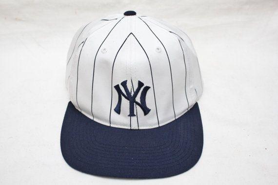 f563fd7115a09e ... cooperstown franchise fitted cap; rare 90s vintage new york yankees  pinstripe original snapback mens exclusive ...