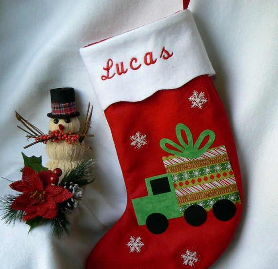 Felt Christmas StockingKids Personalized Christmas Stocking