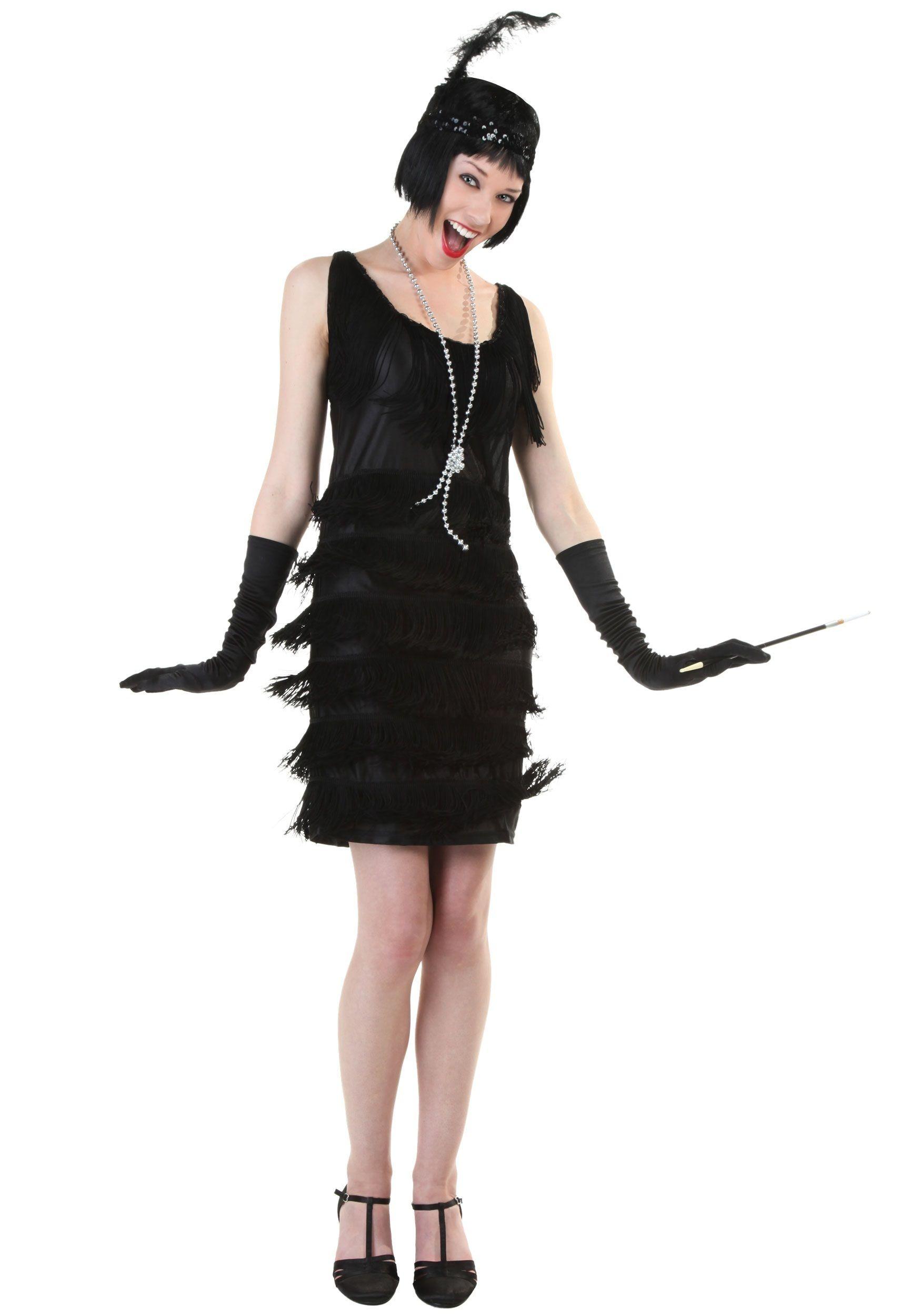 bb015e5ea03d Plus Size 1920's Flapper Costume. Plus Size 1920's Flapper Costume Flapper  Dresses For Sale, Black Flapper Dress, Vintage 20s