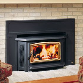 Magnificent Pacific Energy woodstove technically a fireplace insert  incredibly efficient