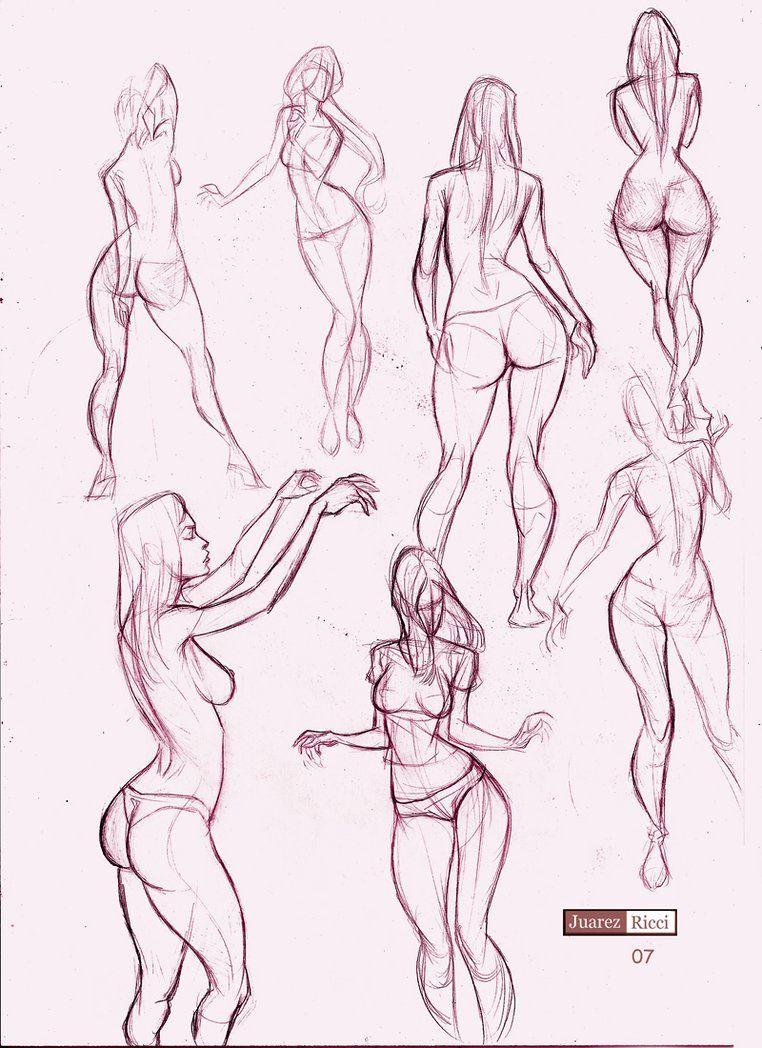 Today\'s Drawing Class 101: Female Anatomy   Female body   Tutorials ...
