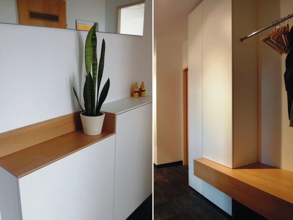Pin von gernot krempl auf vorzimmer pinterest for Garderobe einrichten ideen
