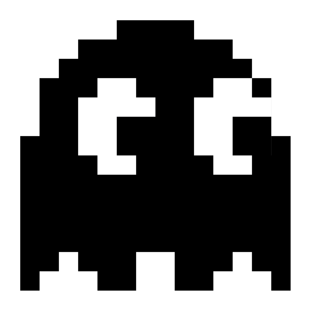 41+ Pacman ghost clipart black and white ideas in 2021