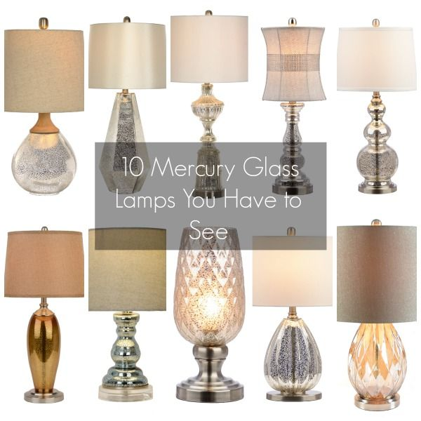 10 Mercury Glass Lamps You Have To See   My Kirklands Blog