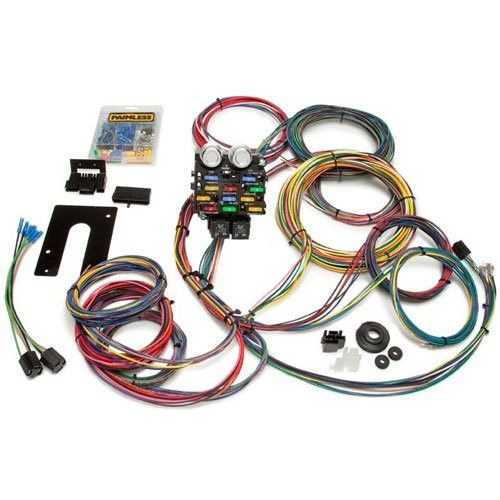 Painless 50002 Race Car Wiring Harness Kit Wire, Circuit