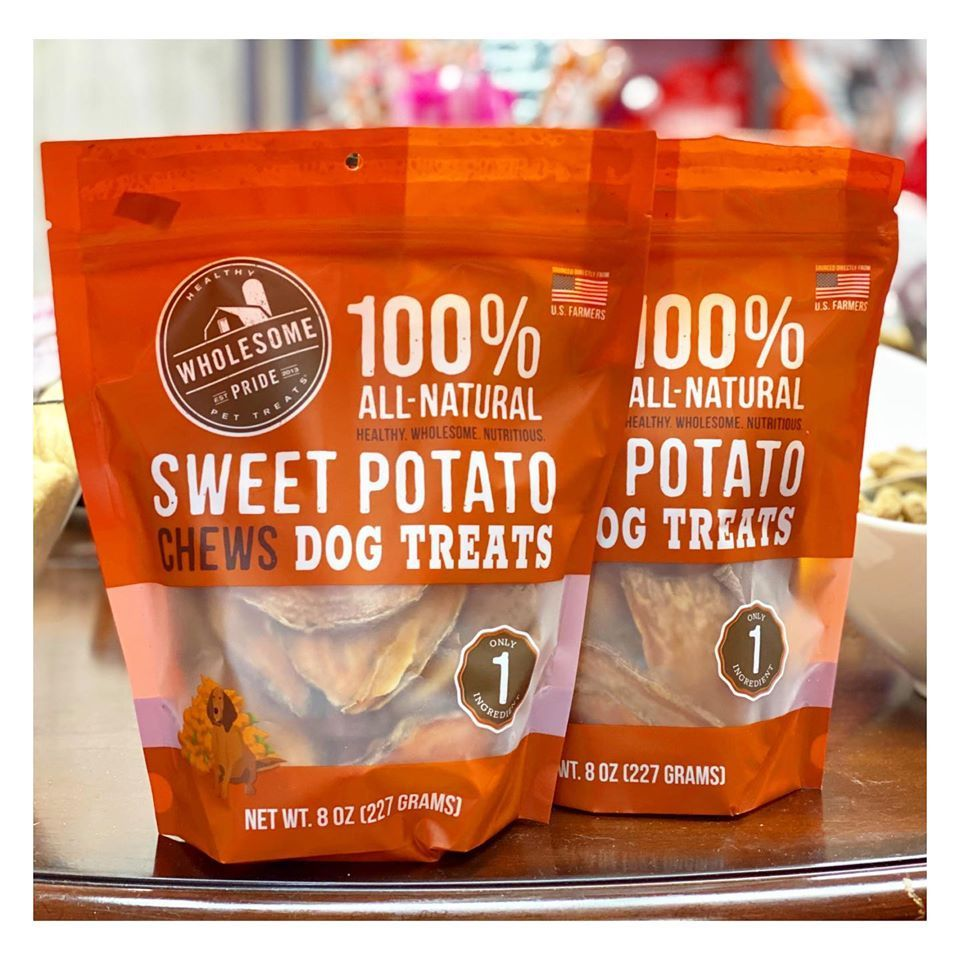 Wholesomepride Sweet Potato Chews Are Now In Stock Here At Woof