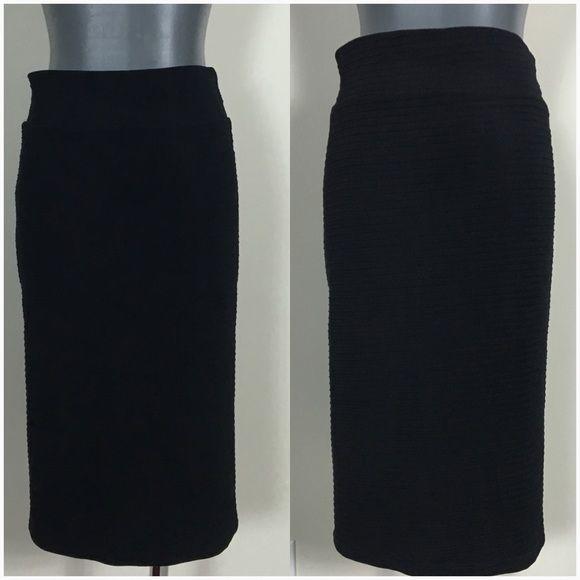 Black med bandage mid skirt small Black med bandage mid skirt small Sparkle & Fade Skirts Midi