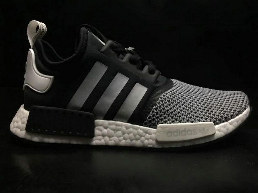 0618cd7ec Adidas NMD R1 Jd Sports Black Grey White Bb6191 new style Shoe ...