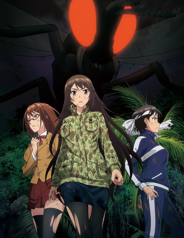 Crunchyroll Adds The Island of Giant Insects Anime Anime