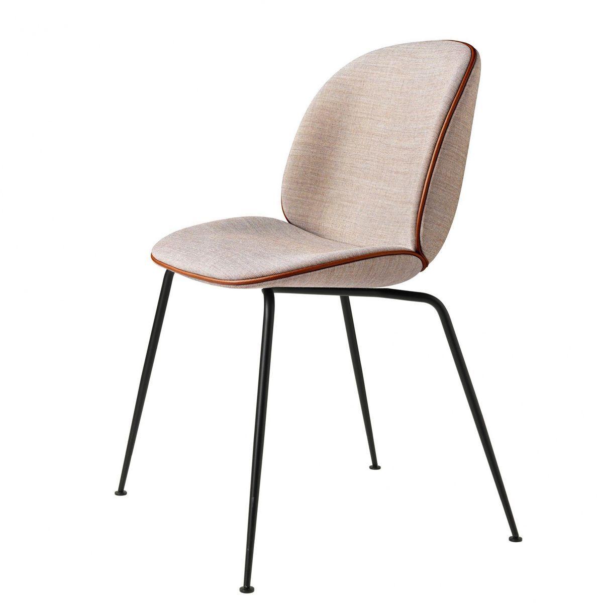 beetle chair mit stoff und gestell schwarz bedroom st hle stuhl polstern und stuhl stoff. Black Bedroom Furniture Sets. Home Design Ideas