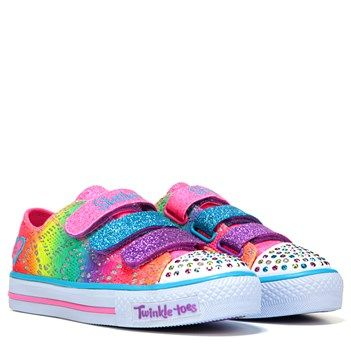 Kids' Twinkle Toes Rainbow Madness