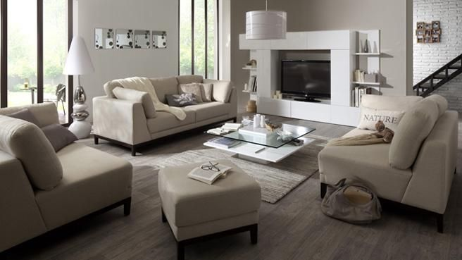 J 39 aime cette photo sur et vous colores salon cosy deco salon et salon gris - Deco salon mur gris ...