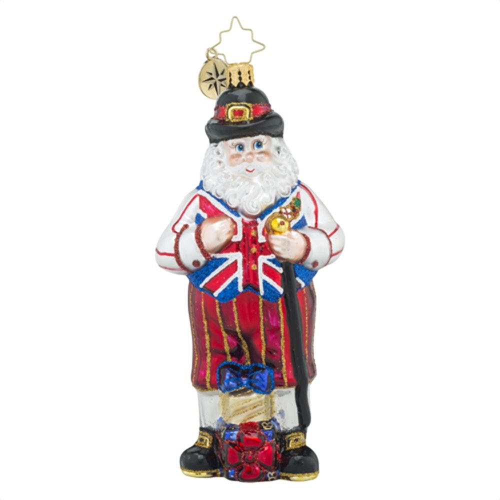 Christopher Radko Ornaments  Radko UK Kickers Destination Santa