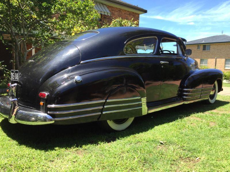 1948 Chevrolet fleetline Aerosedan RHD not so recent import
