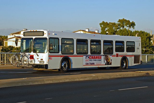 Long Beach Transit Long beach and Vehicle