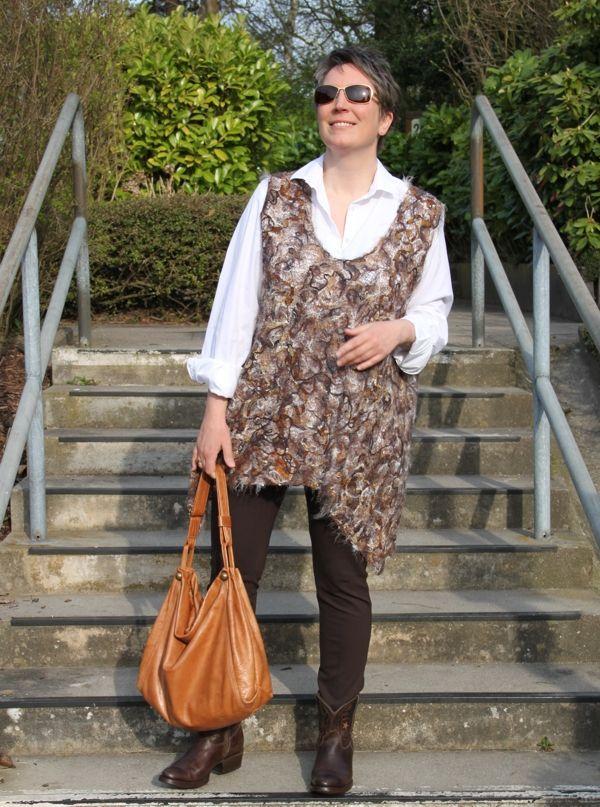 Outfit mit Hängerchen in Fadentechnik