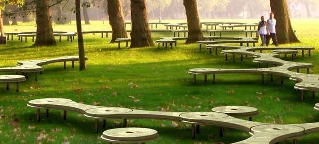 Modular Public Seating Urban Landscape Design Landscape Architecture Landscape Design