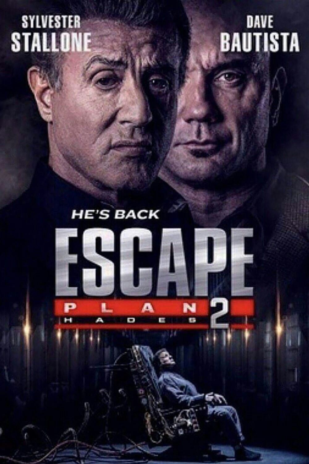 escape plan 2 hades movie poster fantastic movie posters