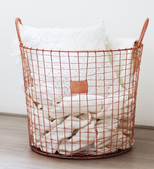 A Laundry Basket | Dorm Room Checklist: Essential Items For Your College  Room Part 36
