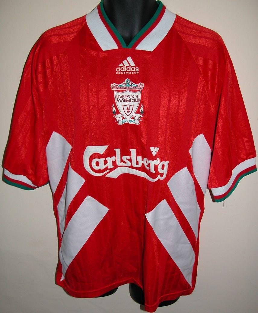 d805d1937 1993-95 Liverpool home shirt by Adidas | LFC Shirts | Retro football ...