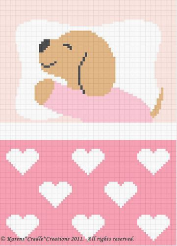 Photo of Crochet Patterns-SWEET DREAMS BABY GIRL PUPPY Pattern FOR SALE • $6.00 • See…