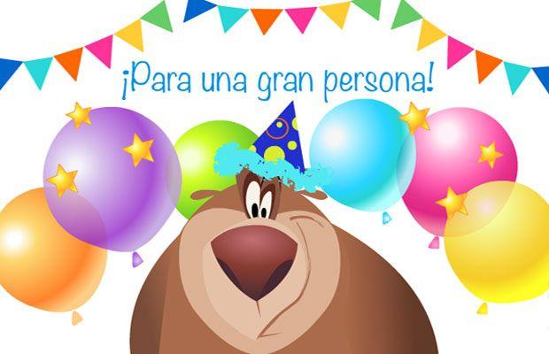 tarjetas graficas virtuales de feliz cumpleanos para imprimir gratis (8) Cumpleaños de Granja