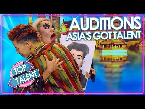 Asia S Got Talent Auditions 2019 Week 2 Top Talent Youtube Audition Talent Laughing And Crying