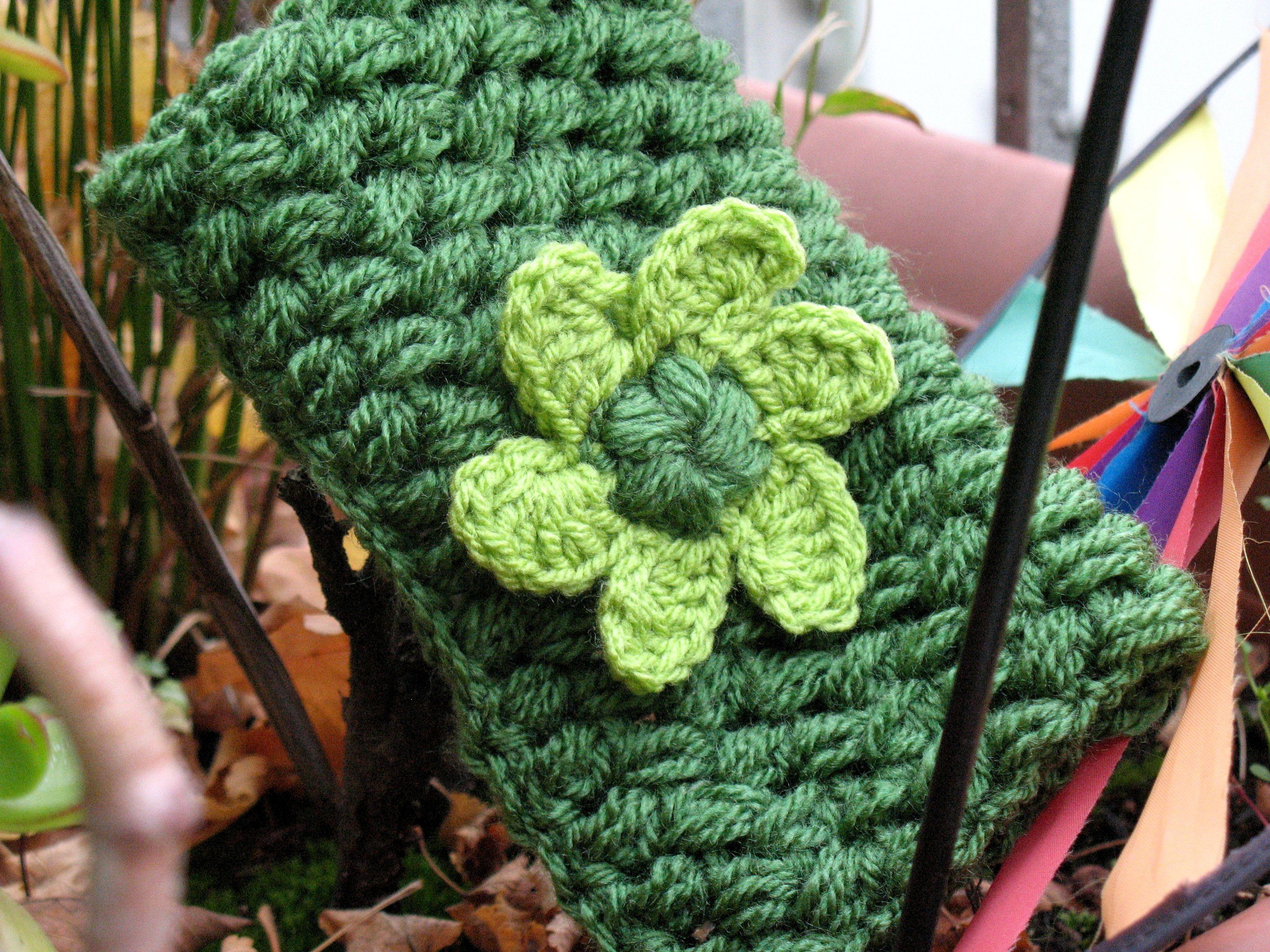 Grün, grün, grün sind meine neuen Stulpen | bennelle