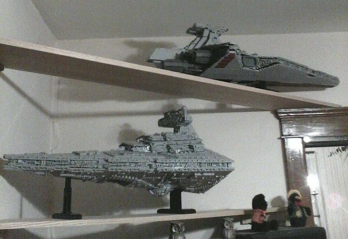 Lego Moc Moc 0694 Ucs Venator Star Destroyer Building Instructions