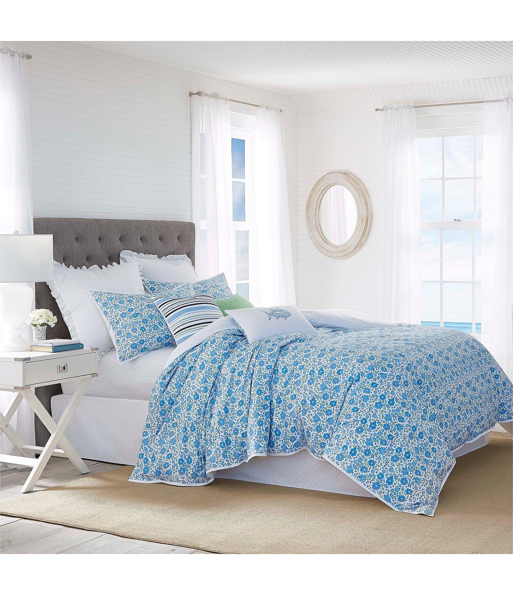 Southern Tide Laurel Falls Mini Comforter Set Blue Multi