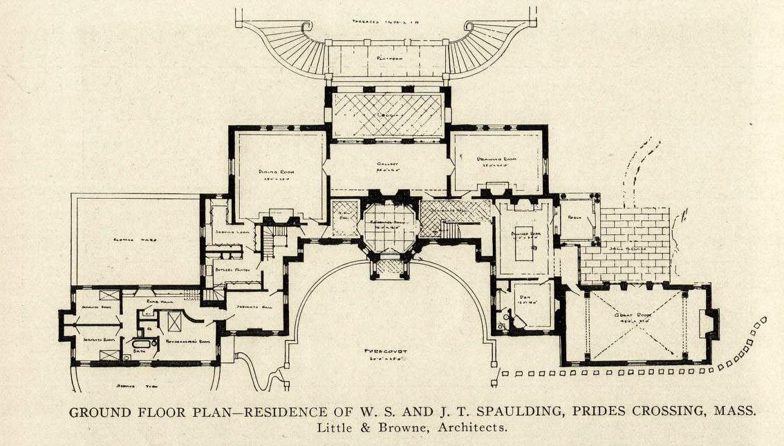 Archimaps Architectural Floor Plans Craftsman Floor Plans Vintage House Plans