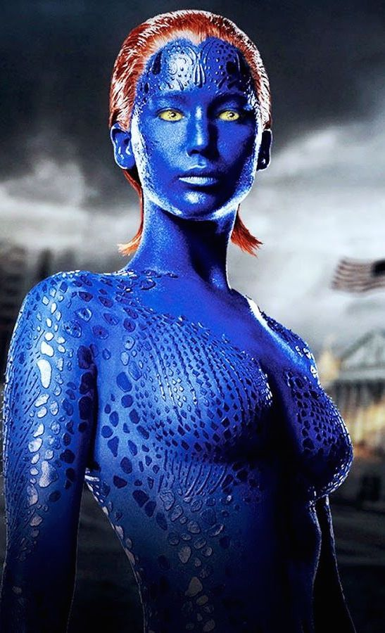 Don't Feel Blue! Jennifer Lawrence Confirms That Mystique ...