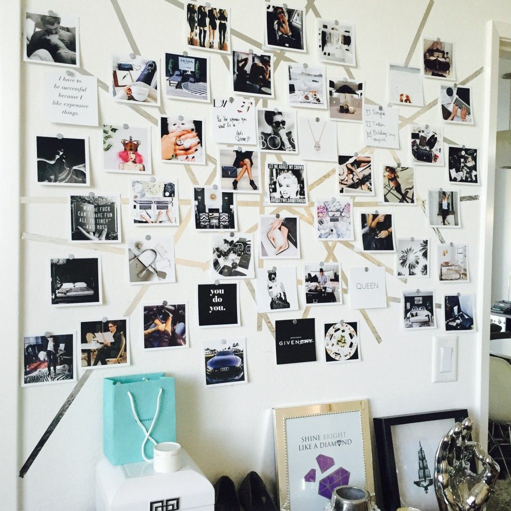 How to create a stylish vision board for any space  Sayeh