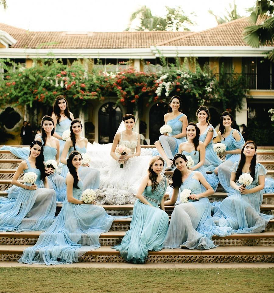 Wedding Entourage Gowns: Bridal Entourage / Mangored / Wedding