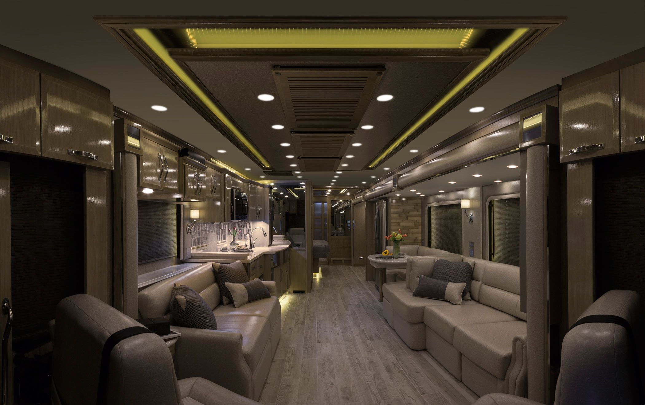 King Aire Motor Coach Gallery Newmar Luxury Rv Luxury Motorhomes Rv Interior