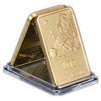 European Map Gold Bullion Bar 1 Oz 999 Fine Gold Commemorative Coin Collection Wish Gold Bullion Bars Gold Bullion Gold Stock