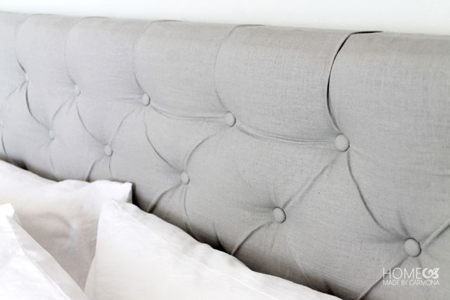 Schon DIY Luxury Diamond Tufted Headboard For $44!!   Wise DIY
