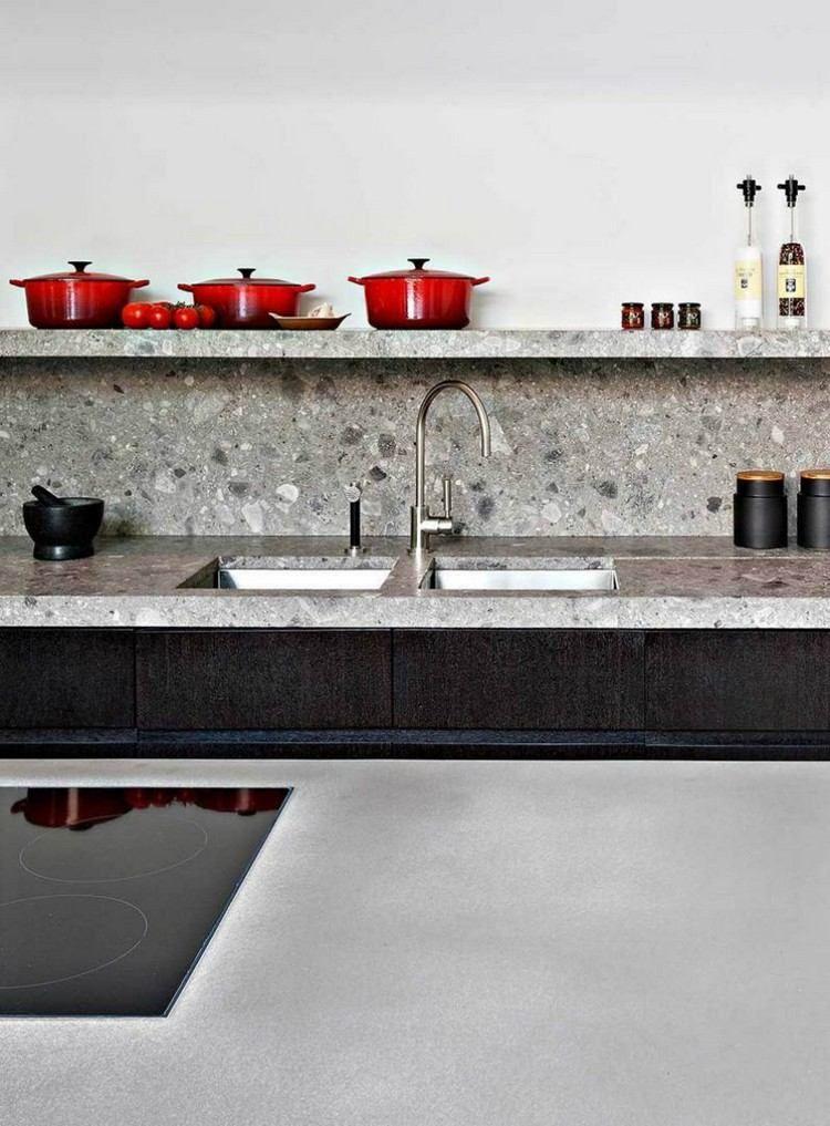 Crédence de cuisine originale en 30 idées d\u0027aménagement tendance