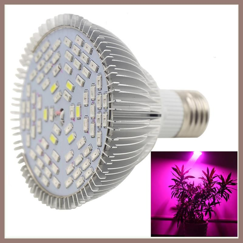 New 78 LED 25W E27 Grow Light LED Grow Lights for Indoor Plant Full ...