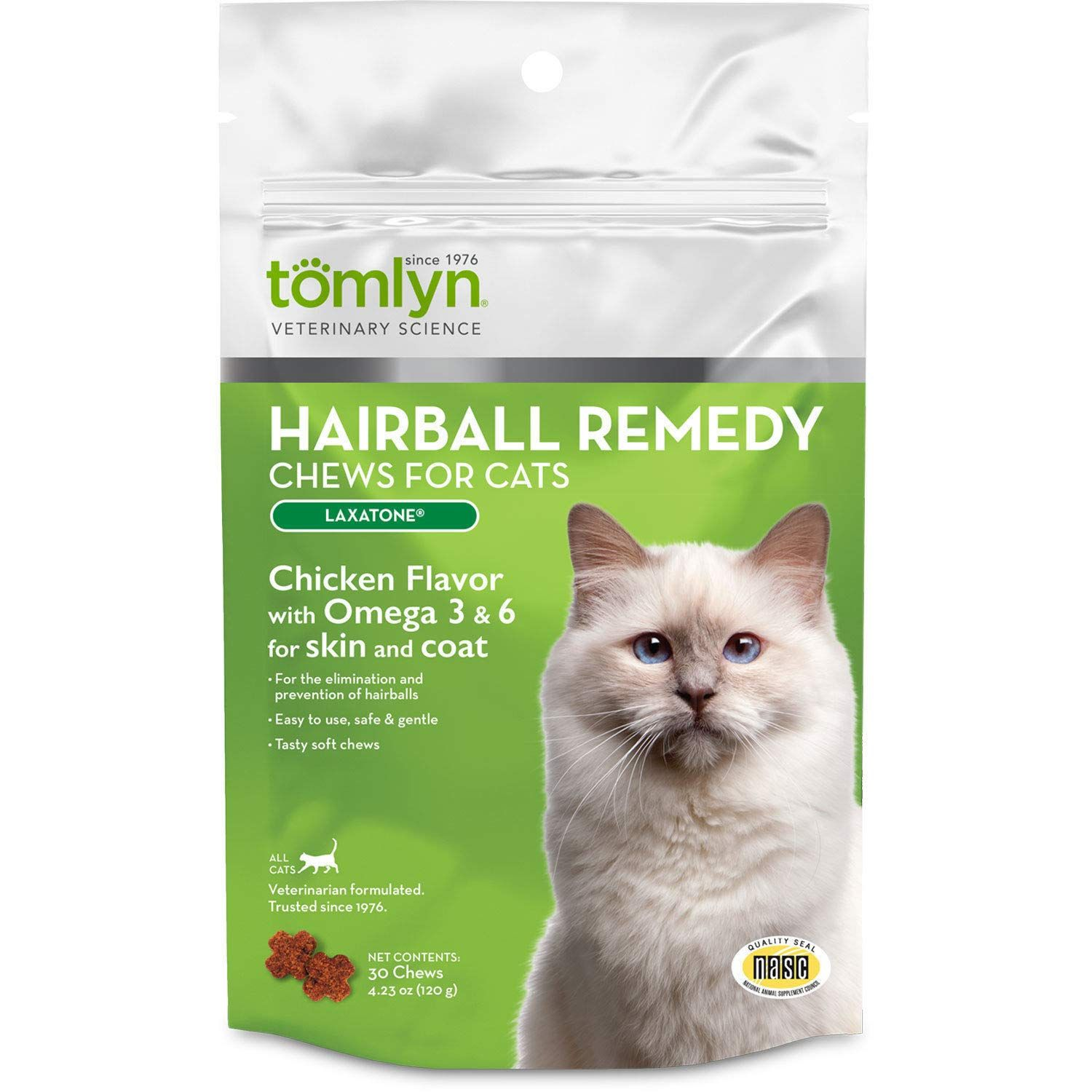 Tomlyn Laxatone Hairball Remedy For Cats Soft Chews Chicken Flavor 60ct Nice Of Your Presence To Drop By To See Ou Chicken Flavors Organic Cat Food Hairball