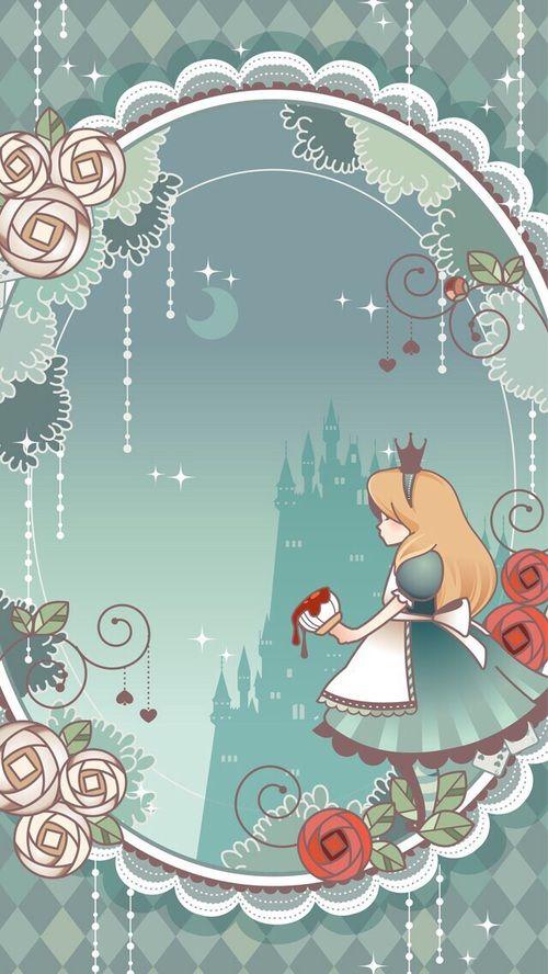 Alice painting the roses red alice in wonderland pinterest wunderland m rchen and filofax - Alice im wunderland deko ...