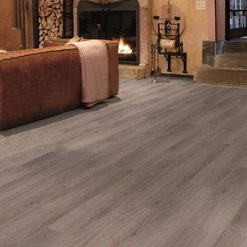 Swiss Style Laminate Flooring with Underlayment Included ...