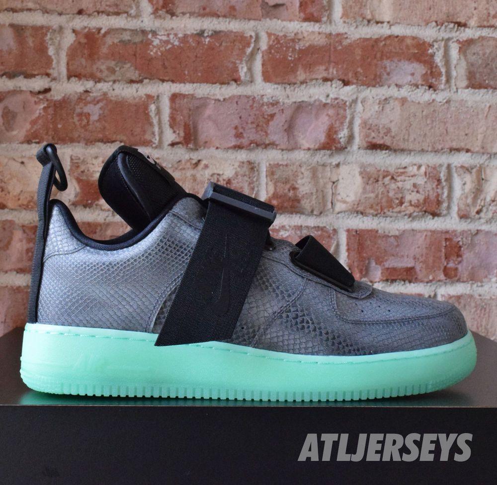Nike Air Force 1 Utility QS OBJ Odell Glow Cool Grey Black