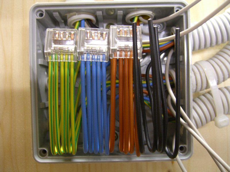 Abzweigdose verdrahten 014 | wiring | Pinterest
