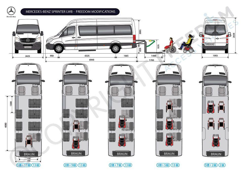 Sprinter Van Conversion Floor Plans Concept