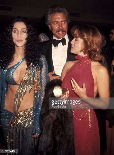 march 9 singer cher actress ann margret and husband roger ...